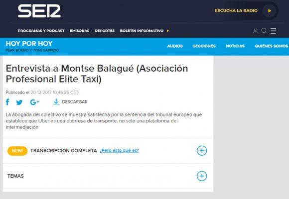 Montse Balagué – Cadena Ser