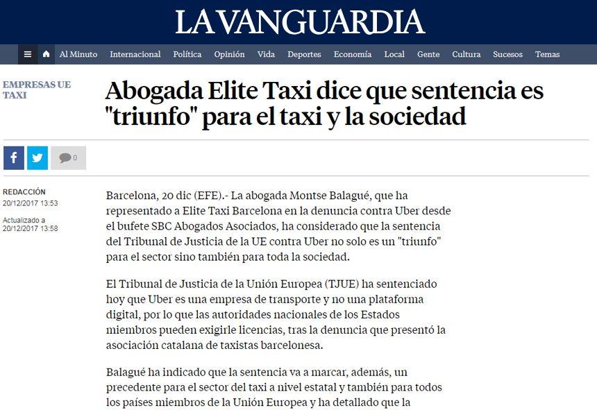 Montse Balagué – La Vanguardia