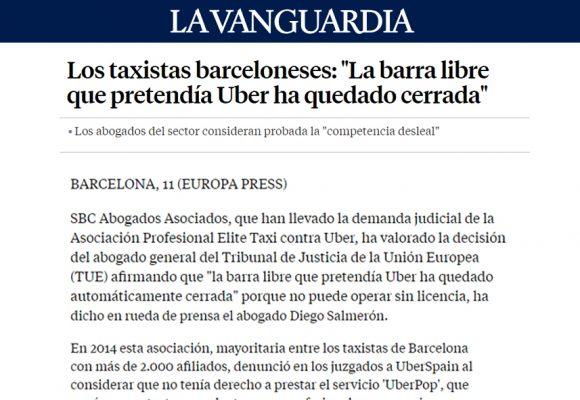 SBC Abogados – La Vanguardia