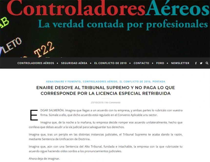 Edgar Salmerón – ControladoresAéreos.org