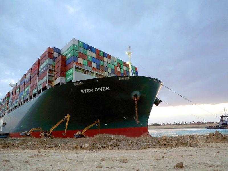 Revisión de las consecuencias derivadas del incidente del buque Ever Given. Transporte marítimo de mercancías.